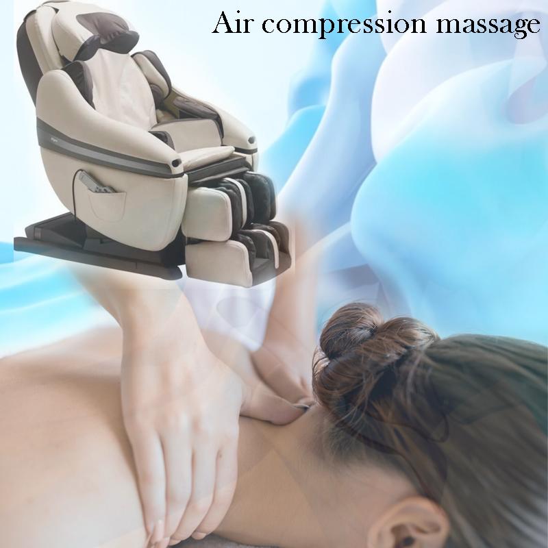 Air compression massage