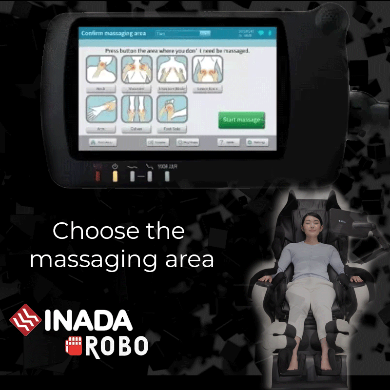 NEW: Choose the massaging area