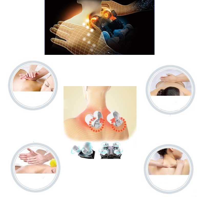 Shiatsu massage function